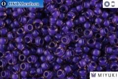 MIYUKI Beads Semi-Matte Violet/Lined Light Amethyst (1932) 11/0