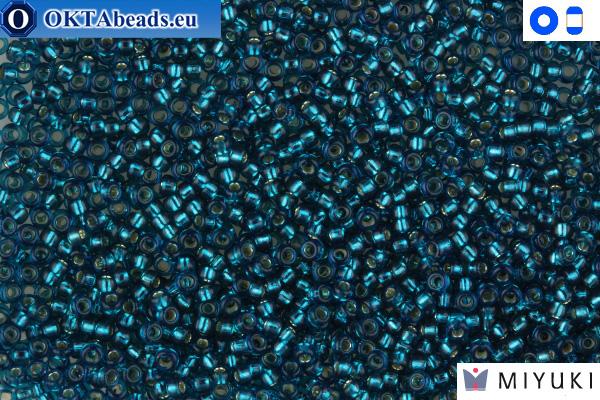 MIYUKI Beads Silver Lined Blue Zircon 15/0 (1425)