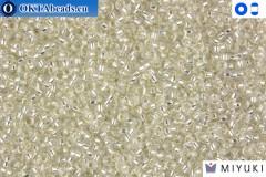 MIYUKI Beads Silver Lined Crystal 15/0 (1) 15MR1
