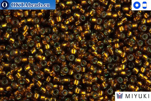 MIYUKI Beads Silver-Lined Olive 15/0 (1421)