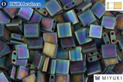 MIYUKI Beads TILA Matte Black AB (401FR)