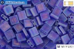 MIYUKI Beads TILA Matte Transparent Cobalt AB (151FR)