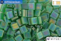 MIYUKI Beads TILA Matte Transparent Green AB (146FR)