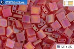 MIYUKI Beads TILA Matte Transparent Red Orange AB (140FR) TiM140FR