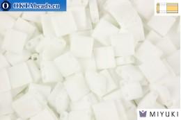 MIYUKI Beads TILA Matte White AB (402FR) TiM402FR