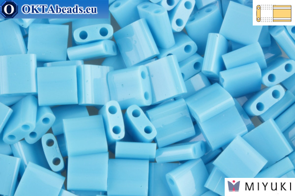 MIYUKI Beads TILA Opaque Turquois Blue (413)