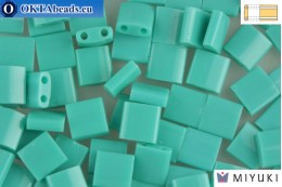 MIYUKI Beads TILA Opaque Turquoise Green (412) TiM412