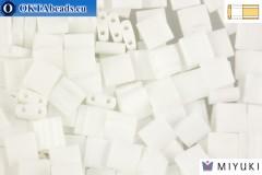 MIYUKI Beads TILA Opaque White (402)