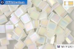 MIYUKI Beads TILA Pearl White Opaque (471)