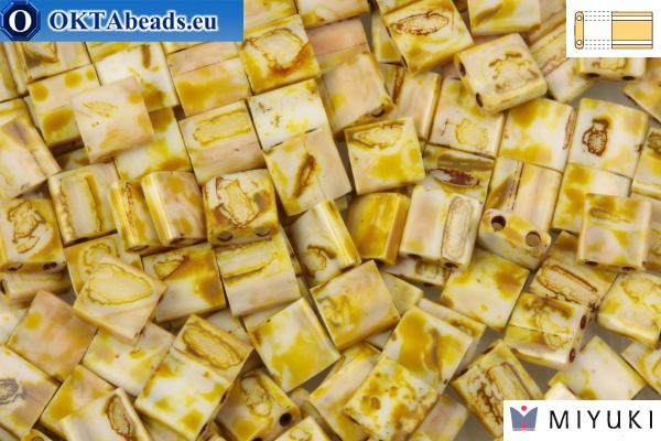 MIYUKI Beads TILA Picasso Canary Yellow Matte (4512)