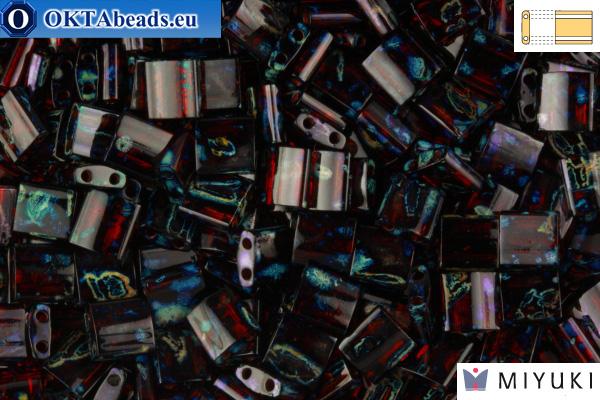 MIYUKI Beads TILA Picasso Garnet Transparent (4504) TiM4504