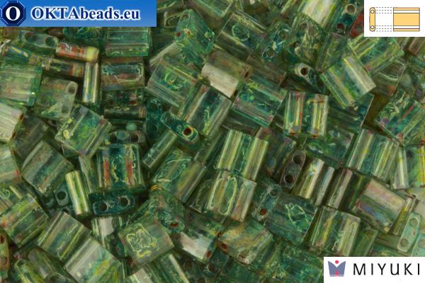 MIYUKI Beads TILA Picasso Olivine Transparent (4506)