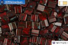 MIYUKI Beads TILA Picasso Opaque Red (4521)