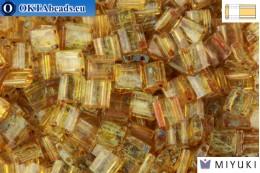 MIYUKI Beads TILA Picasso Saffron Transparent (4501)