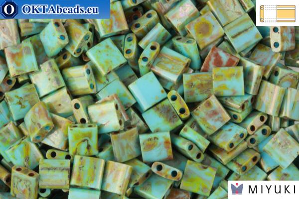 MIYUKI Beads TILA Picasso Sea Foam Green Matte (4514)