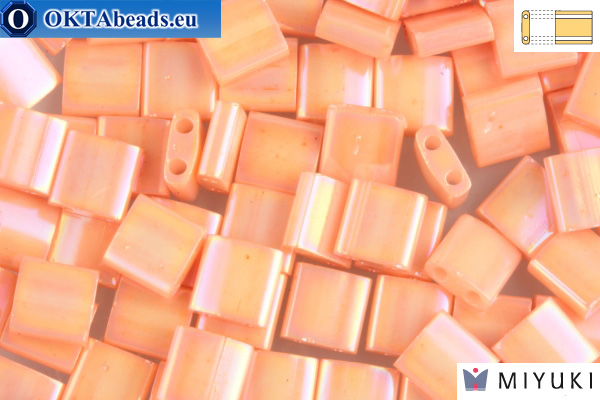 MIYUKI Beads TILA Semi-Matte Opaque Salmon (596)