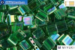 MIYUKI Beads TILA Transparent Green Luster (179)