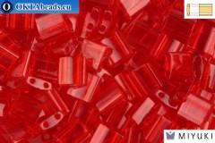 MIYUKI Beads TILA Transparent Red (140) TiM140