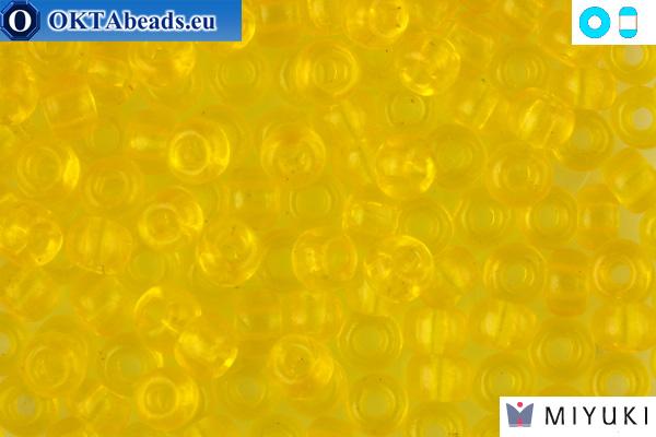 MIYUKI Beads Transparent Yellow 6/0 (136) 6MR136