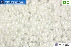 MIYUKI Beads White Ceylon 8/0 (528)