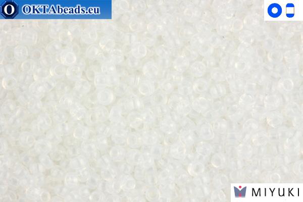 MIYUKI Beads White Opal 15/0 (550)