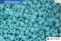 MIYUKI Delica Duracoat Opaque Nile Blue (DB2128) 11/0