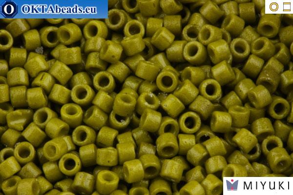 MIYUKI Delica Duracoat Opaque Spanish Olive (DB2141) 11/0 DB2141