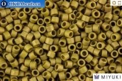 MIYUKI Delica Matt Metallic Olive Gold (DB371) 11/0