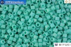 MIYUKI Delica Matte Opaque Turquoise AB (DB878) 11/0