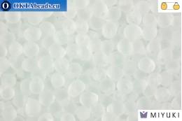 MIYUKI Drop Beads Matte Crystal (131F) DpM131F