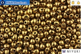 MIYUKI Drop Beads Metallic Bronze (457) DpM457