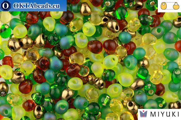 MIYUKI Drop Beads Mix Earthtone (MIX07)