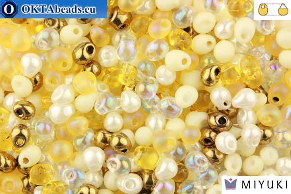 MIYUKI Drop Beads Mix Honey Butter (MIX22)