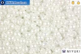 MIYUKI Drop Beads White Pearl (420) DpM420