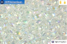 MIYUKI Long Drop Beads Crystal AB (250) LDP250