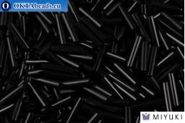 Miyuki Slender Bugle Black (401) 1,3x6mm,5gr MSB6-0401