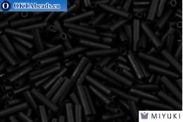 Miyuki Slender Bugle Matte Black (401F) 1,3x6mm,5gr MSB6-0401F
