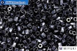 MIYUKI Крученая рубка Hematite Metallic (451) 10/0, 10gr 10TW451
