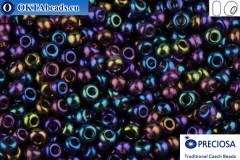 Preciosa český rokajl 1 jakost fialový AB (21080) 10/0, 50g R10PR21080