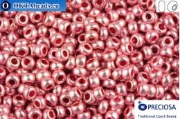 Прециоза чешский бисер 1 сорт розовый металлик Терра (18595) 10/0, 50гр R10PR18595