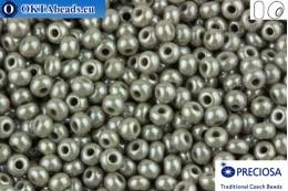 Preciosa czech seed beads 1 quality grey luster (48020) 10/0, 50g