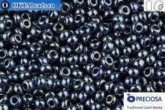 Preciosa czech seed beads 1 quality cobalt luster (36110) 10/0, 50g