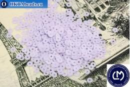 Французские пайетки Langlois-Martin фиолетовые (6024) 3мм, 1000шт PP011