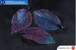 Galvanizovaný lístek 35x32cm, 1ks leaf-1