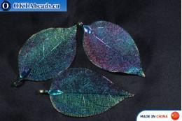 Galvanizovaný lístek extra kvalita 35x32cm, 1ks leaf-2