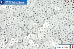 Итальянские плоские пайетки Ghiaccio Metal (1009) 3мм, 2гр ITP-P3-1009