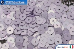 Итальянские плоские пайетки Lilla Metal (5009) 4мм, 2гр ITP-P4-5009