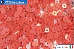 Итальянские плоские пайетки Red Orientali (0154) 3мм, 2гр