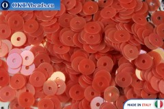 Итальянские плоские пайетки Red Orientali (0154) 4мм, 2гр ITP-P4-0154