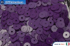 Итальянские плоские пайетки Vinaccia Opaline (5234) 4мм, 2гр ITP-P4-5234